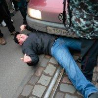 Пикет в защиту прав автомобилистов